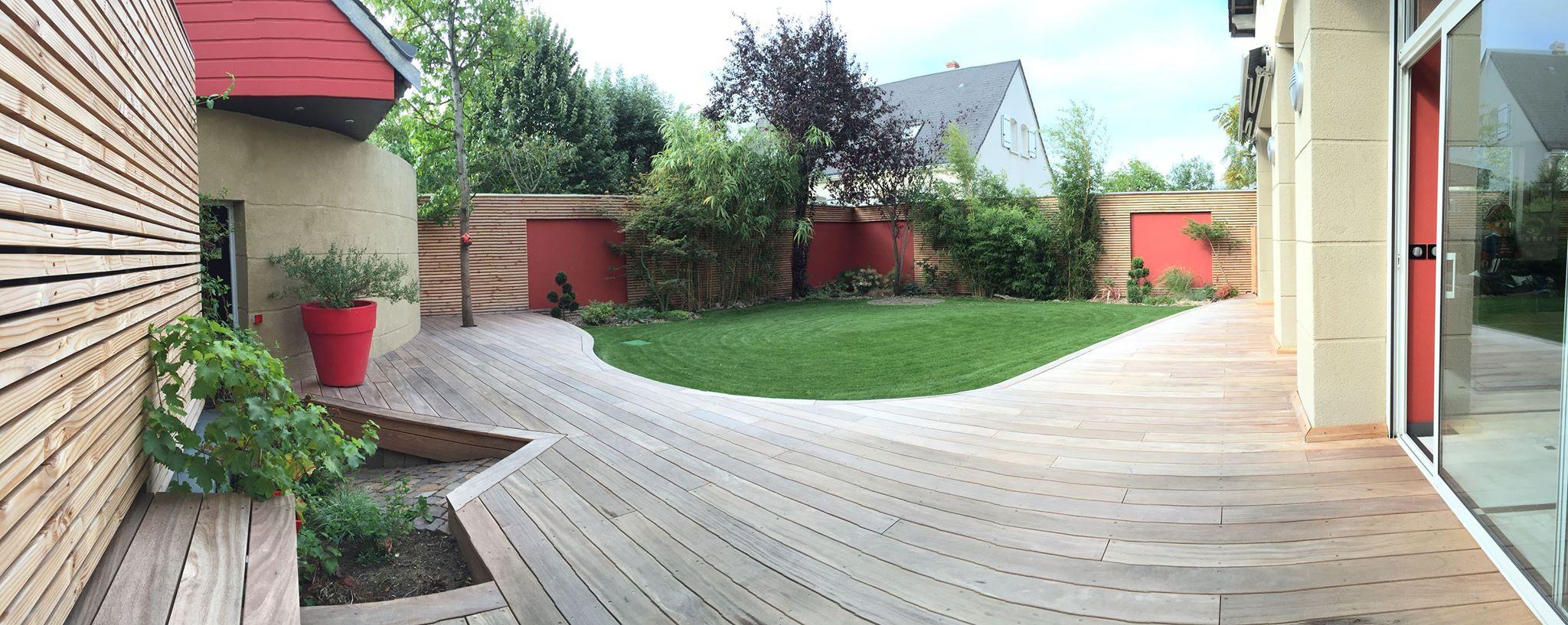 optez pour une terrasse sur lev e loire eco bois. Black Bedroom Furniture Sets. Home Design Ideas