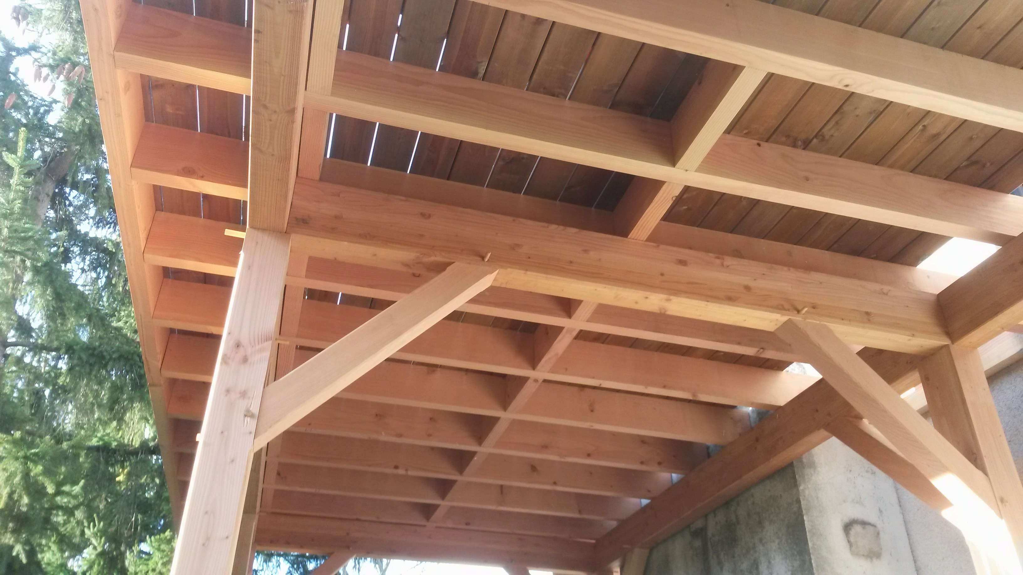 Terrasse bois sur lev e cr ation d 39 une terrasse bois for Garde meuble annemasse