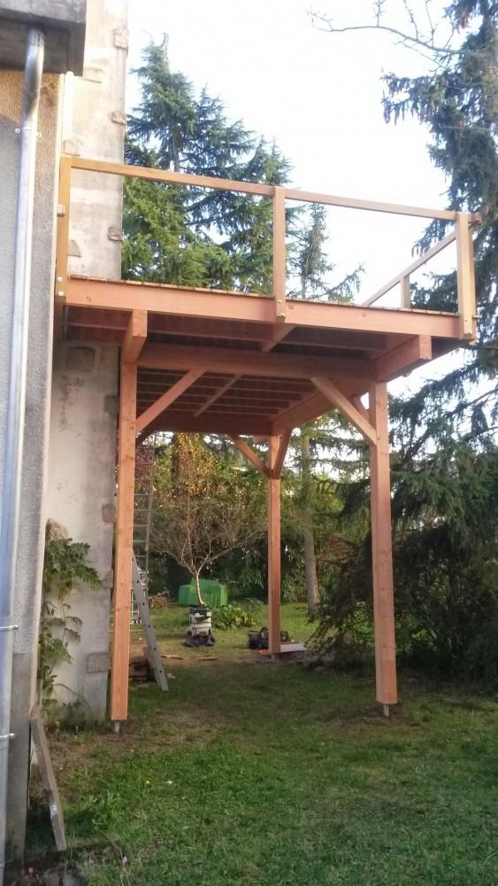 Terrasse Surélevée Bois - Nivrem com = Terrasse En Bois Orleans ~ Diverses idées de conception de patio en bois pour votre