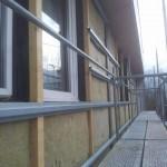 Isolation par l'extérieur et bardage bois Orléans