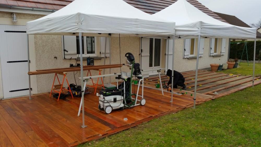 terrasse bois avec clairage int gr loire eco bois. Black Bedroom Furniture Sets. Home Design Ideas