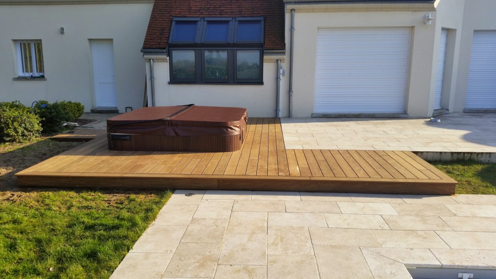 Extension bois sur terrasse for Extension sur terrasse