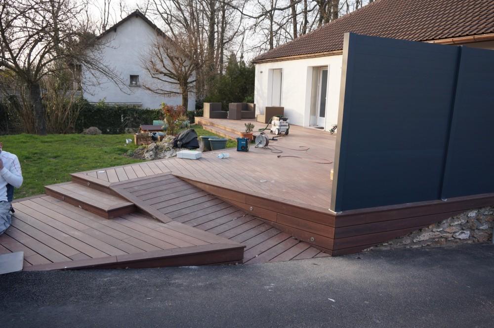 Terrasse En Bois Composite Un Look Effet Bois L Entretien En Pictures