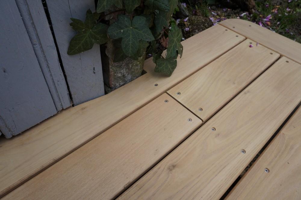 Terrasse bois en robinier à Orléans   Loire Eco Bois