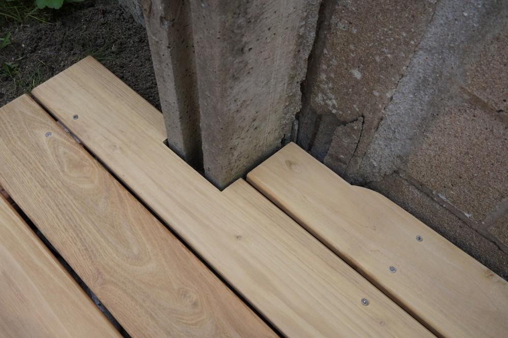 Terrasse bois en robinier à Orléans | Loire Eco Bois