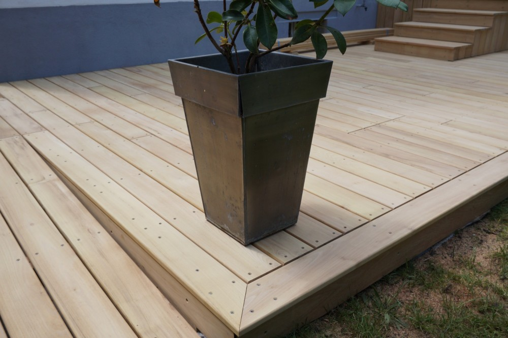 Terrasse Robinier Nantes : Terrasse bois en robinier u00e0 Orl u00e9ans Loire Eco Bois