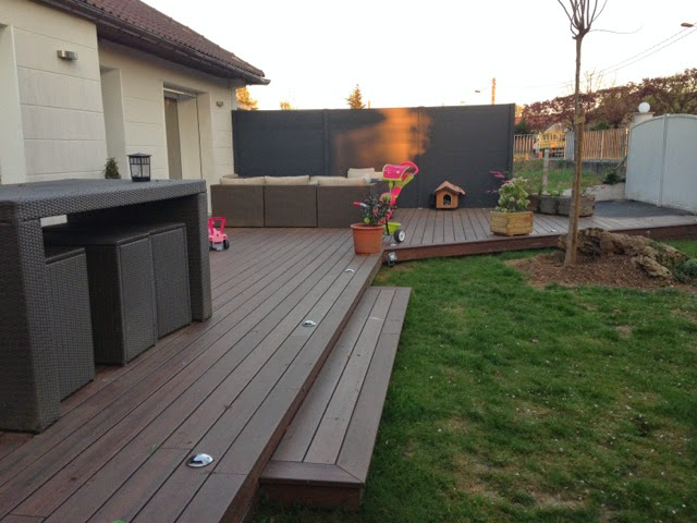 terrasse en bois composite dans l 39 essonne loire eco bois. Black Bedroom Furniture Sets. Home Design Ideas