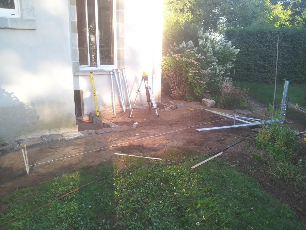Nivrem com = Terrasse Bois Vis De Fondation ~ Diverses idées de conception de patio en bois pour  # Vis Pour Terrasse Bois