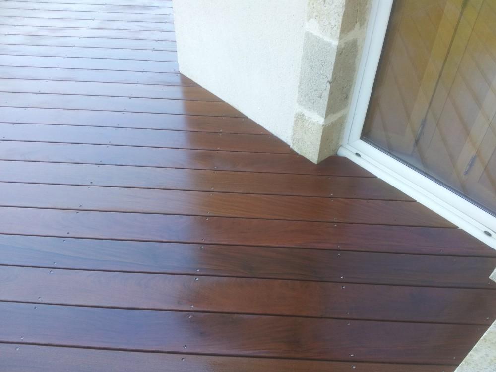 terrasse bois sur vis fondation id es sur les parcs et. Black Bedroom Furniture Sets. Home Design Ideas
