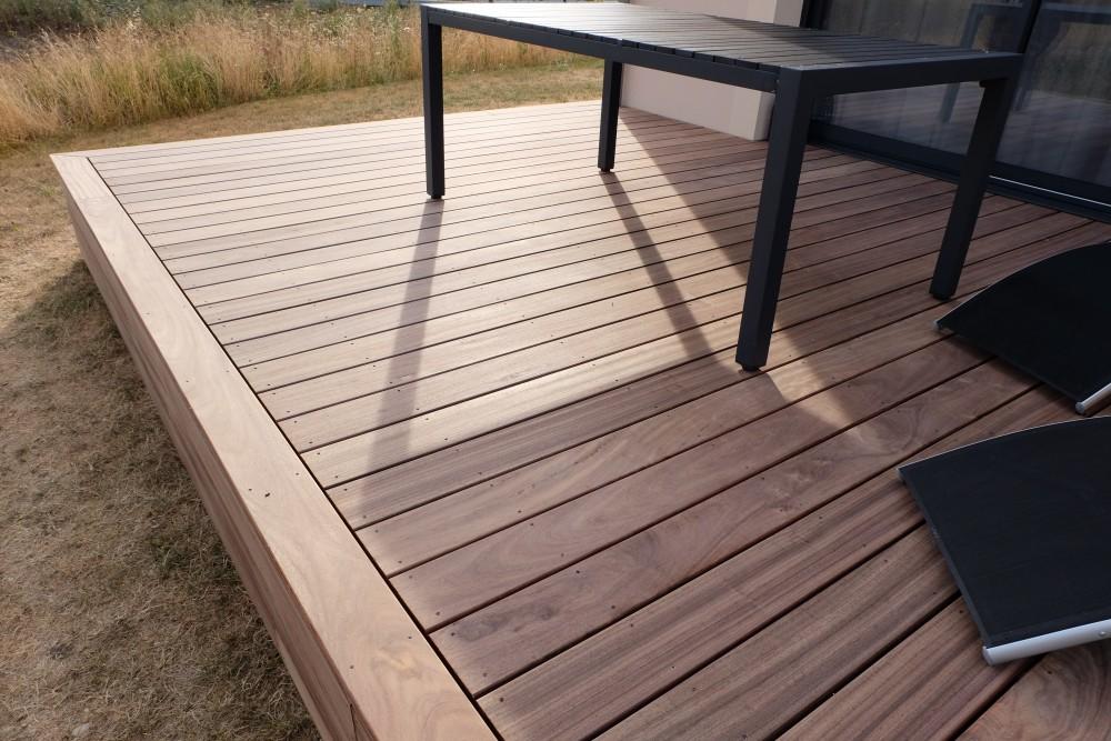 Pose DUne Terrasse En Padouk  Orlans  Loire Eco Bois