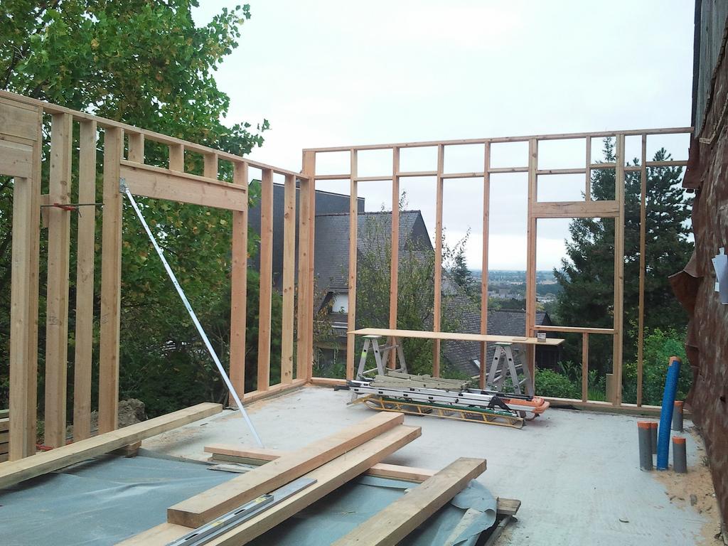 Zoom sur l 39 ossature bois de votre maison loire eco bois for L ossature bois