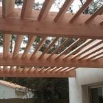 Construction Pergola Bois