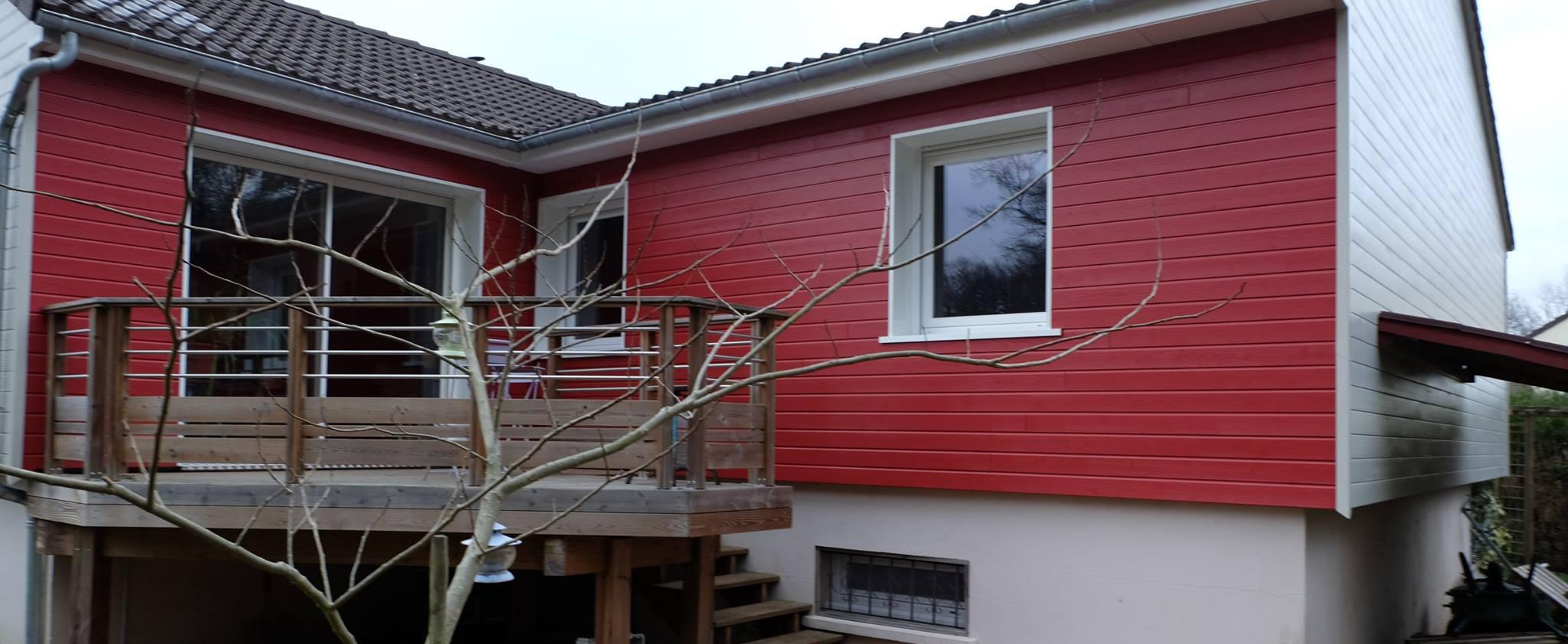 Exemple De Bardage Exterieur isolation extérieure orléans et bardage bois | loire eco bois