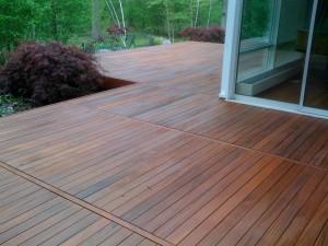 terrasse bois exotique ipé