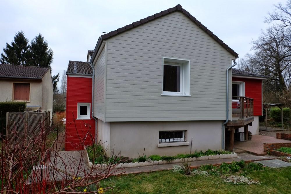 isolation et bardage bois rouge et blanc loire eco bois. Black Bedroom Furniture Sets. Home Design Ideas