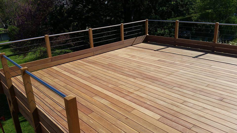 Favoris Terrasse en bois suspendue à Beaugency | Loire Eco Bois KK29
