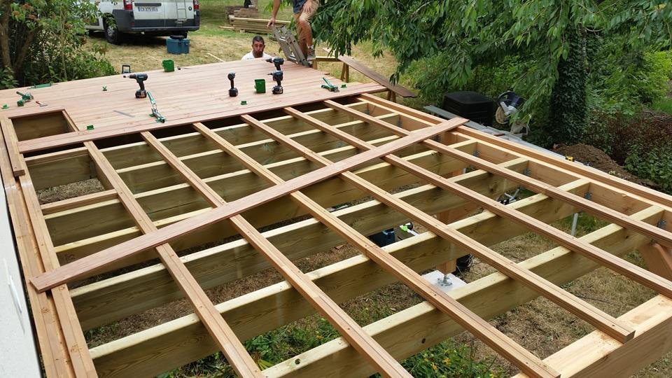 Fantastic Optez pour une terrasse surélevée ! | Loire Eco Bois RK56