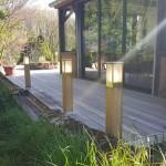 Terrasse Bois Autour d'une Veranda